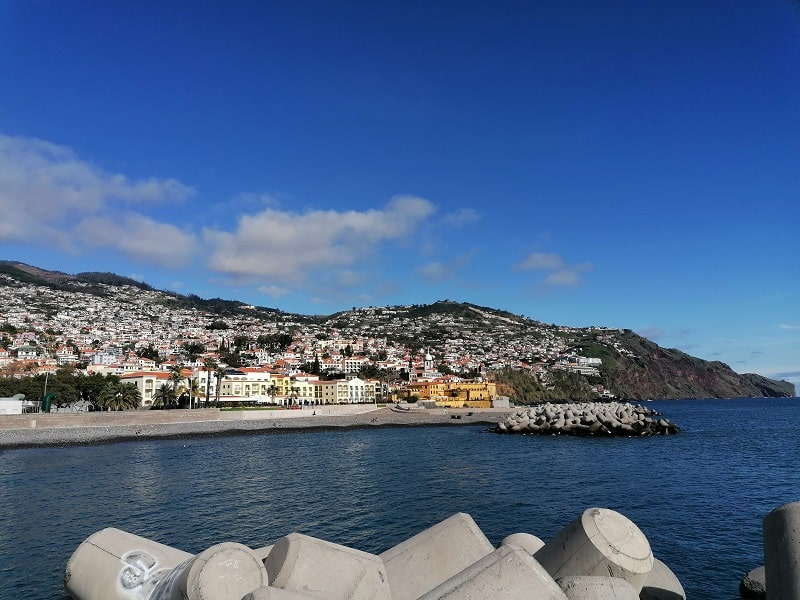 Spaziergang durch Funchal auf Madeira